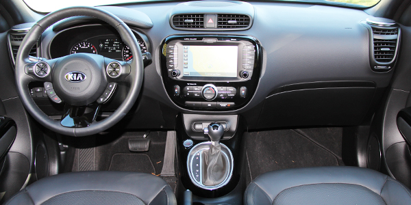 2014 Kia Soul Interior Dash