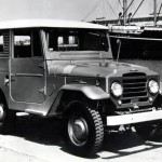 The Land Cruiser is the beast that has carried every burden thrown atop it in every corner of the earth. And the Cruiser that's worth remembering is the FJ40 that appeared first in 1960. Larger and more robust than previous versions of the Cruiser, the FJ40 was plain tough. It wasn't sophisticated or luxurious, and it was pretty agricultural in operation. But that's exactly what it needed to be. The FJ40 continued almost unchanged for more than 20 years, a tribute to its brutishly effective design. In 1983, the last new one was sold in the United States, while the last one rolled off the line in Japan in 1984—a full 24 years after it was introduced.