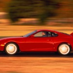 A missile cleverly disguised as a missile, the fourth-generation Toyota Supra—particularly in 320-hp, twin- sequential-turbocharged form—may well be the most accessible supercar ever. Although it developed a mighty reputation during a production run that lasted through 2002 (it was withdrawn from the U.S. after 1998), its true heroism became apparent only when owners began applying more boost and more aftermarket gadgetry to the 3.0-liter DOHC 24-valve iron-block straight-six. Yeah, 400 horsepower was easy, and 500 was there without even turning a page in the HKS catalog. But then things got nuttier and nuttier as claimed outputs swelled into the four-digit range. This is the car that made Vin Diesel–grade insanity part of the Toyota tradition.