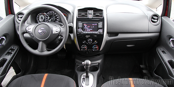 2015 nissan versa note sr review the automotive review. Black Bedroom Furniture Sets. Home Design Ideas
