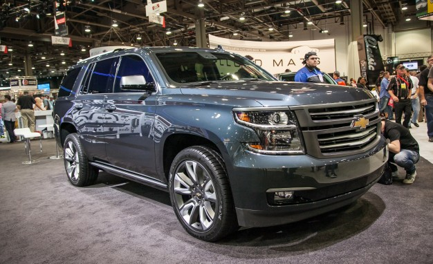 Chevrolet Tahoe Premium Outdoors concept