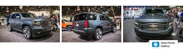 Chevy Whips Up Mighty Fine-Looking 'Burban, Tahoe, and Silverado for SEMA