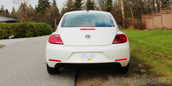 2015 Volkswagen Beetle White Exterior Rear