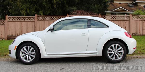 2015 Volkswagen Beetle White Exterior Side