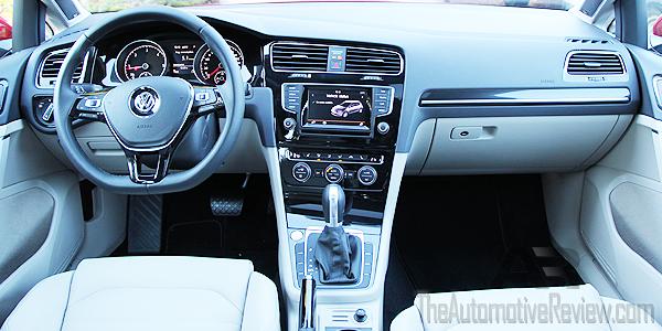 2015 Volkswagen Golf TDI Interior Dash