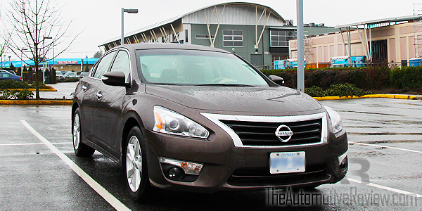 2015 Nissan Altima Exterior Front Side