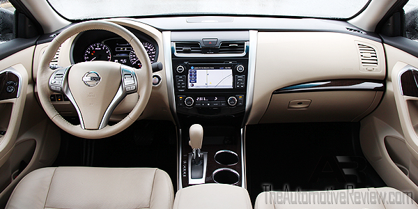 2015 Nissan Altima Interior Dash