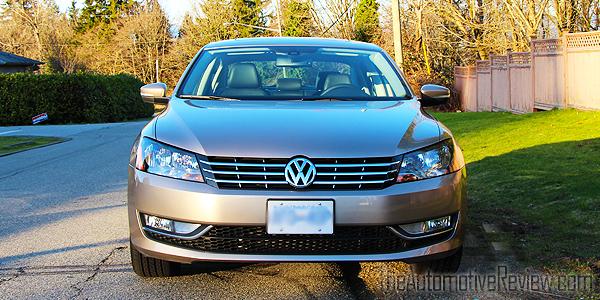 2015 Volkswagen Passat TDI Exterior Front