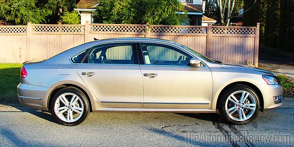 2015 Volkswagen Passat TDI Exterior Side