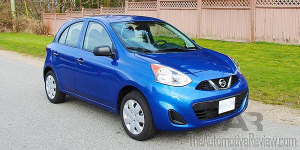 2015 Nissan Micra Exterior Front Side