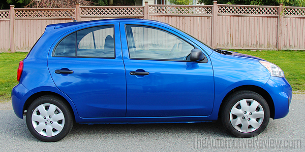 2015 Nissan Micra Exterior Side