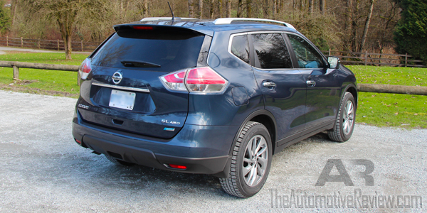 2015 Nissan Rogue Exterior Rear Side
