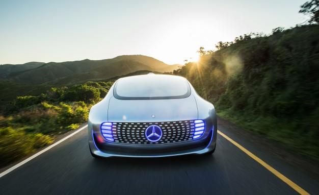 Mercedes-Benz F 015 Luxury in Motion prototype