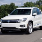 The Tiguan offers a German alternative in a segment full of entries from the U.S. and Asia. Basically a Golf on stilts, the Tiguan features a single engine—a 2.0-liter turbo four—and trim levels ranging from the base S with a six-speed manual to the sporty R-Line with a six-speed automatic. Front-wheel drive is standard; all-wheel drive is optional. We like the handling, brakes and steering, but wish we could get VW's turbo-diesel and a manual. Also, the design is getting a bit old.