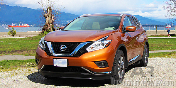 2015 Nissan Murano SL AWD Exterior Front Side Low