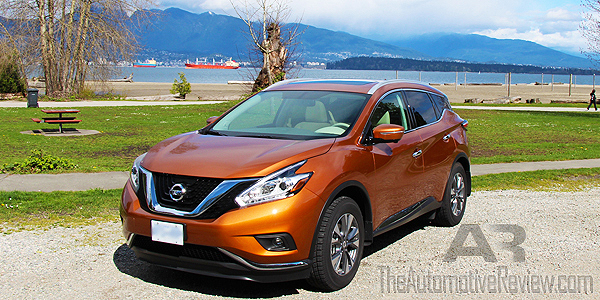 2015 Nissan Murano SL AWD Exterior Front Side