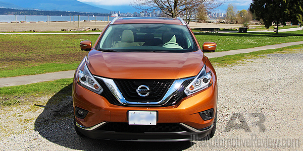 2015 Nissan Murano SL AWD Exterior Front