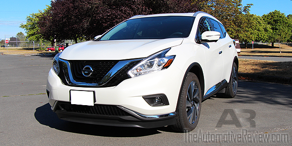 2015 Nissan Murano White Exterior Front Side