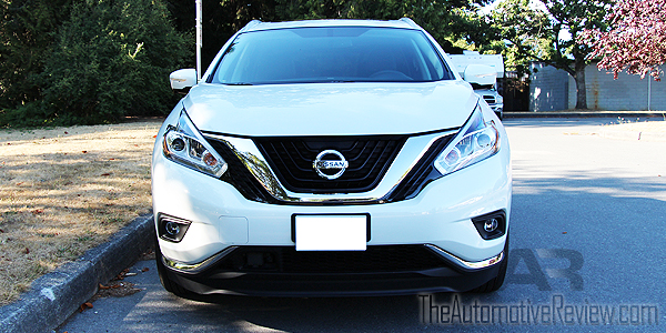 2015 Nissan Murano White Exterior Front