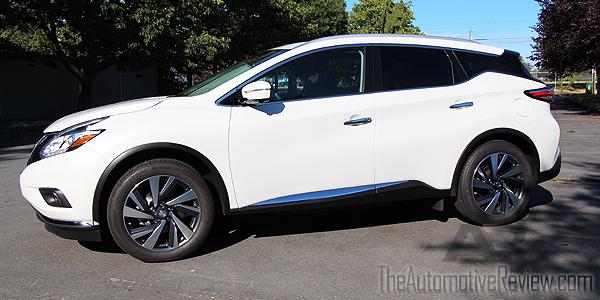 2015 Nissan Murano White Exterior Side