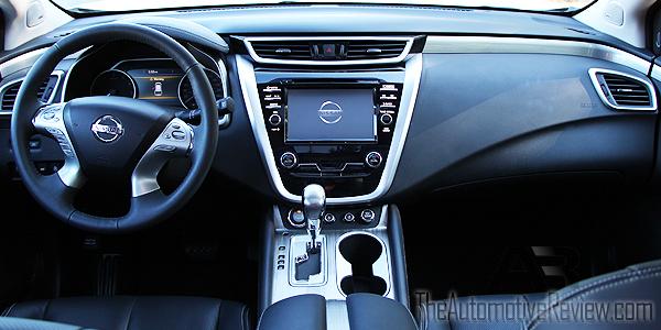 2015 Nissan Murano White Interir Dash