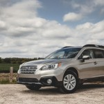 "The new Outback is minimally larger and has a roomier cabin, but still refuses to answer the old ""high station wagon or low crossover?"" query. Perhaps it doesn't matter anymore because it's gained a cult following. It still has 8.7 inches of ground clearance and a choice of a 2.5-liter flat-four or 3.6-liter flat-six, but this year a continuously variable transmission is standard across the board. All-wheel drive is standard on all models, giving it sure-footed, all-weather grip and handling."