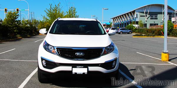 2015 Kia Sportage Exterior Front