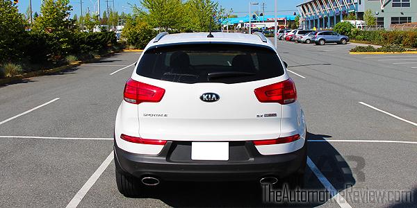 2015 Kia Sportage Exterior Rear