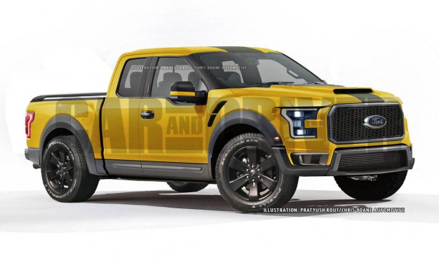 2016 Ford F 150 Street Performance Truck Artist S Rendering