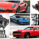 """The all-important question among gearheads has always been, """"What's it got?"""" If the answer is one of the 10 engines listed here, it's got a lot. The best engines available today, these automotive powerplants offer a winning combination of performance and personality, and they span a wide variety of configurations, with three, four, six, eight, or even twelve cylinders. You'll notice, however, that we steered clear of the gasoline-versus-diesel debate by concentrating exclusively on gas-burners. We're big fans of diesels, too, but that's a discussion for another day. Without further ado and presented in no particular order, here are our 10 favorite current production engines."""