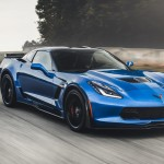 The engine's overall dimensions are barely larger than those of the non-supercharged Chevy V-8—the blower adds less than one inch to the overall height of the regular small-block—and weight is up by just 75 pounds. A technical tour-de-force, the LT4 not only powers the Z06 coupe to 60 mph in 3.0 seconds (the convertible can do 3.1), but it also can now be found under the hood of the 2016 Cadillac CTS-V. While it makes slightly less power in the Caddy, the blown V-8 nonetheless is capable of punting the big sedan to a claimed 200-plus-mph top speed. —Alexander Stoklosa