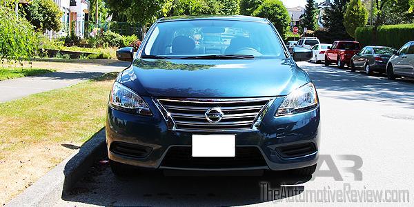 2015 Nissan Sentra Exterior Front