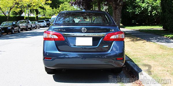 2015 Nissan Sentra Exterior Rear