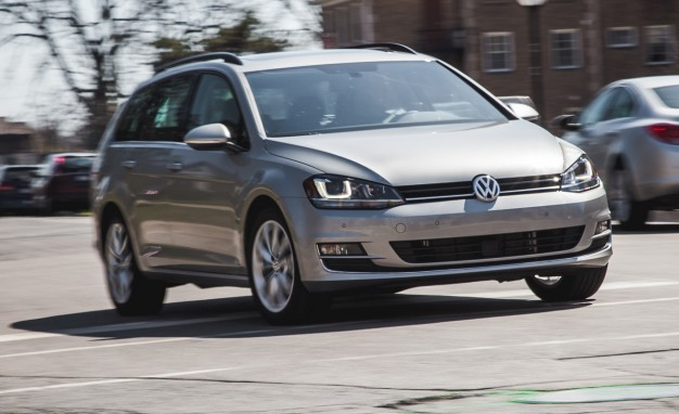 2015 VW Golf SportWagen Automatic Tested: Practical Domination