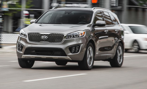 2016 kia sorento 2 0t awd tested four can be more than six the automotive review. Black Bedroom Furniture Sets. Home Design Ideas