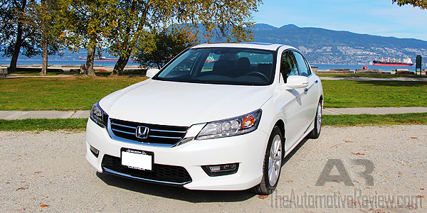 2015 Honda Accord Exterior Front Side Featured