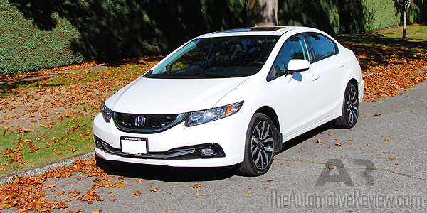 2015 honda civic review the automotive review. Black Bedroom Furniture Sets. Home Design Ideas