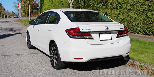 2015 Honda Civic Exterior Rear Side