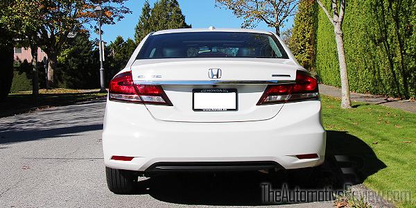 2015 Honda Civic Exterior Rear