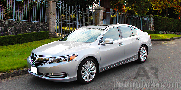 2015 Acura RLX Exterior Front Side