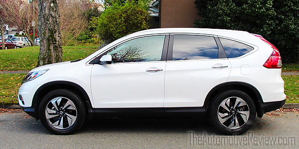 2015 Honda CR-V Elite White Exterior Side