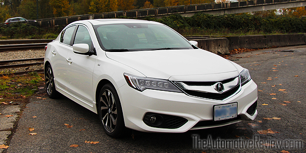 2016 Acura ILX A-Spec Exterior Front Side White Featured