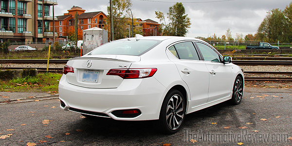 2016 Acura ILX A-Spec Exterior Rear Side White