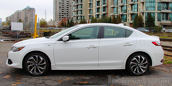 2016 Acura ILX A-Spec Exterior Side White