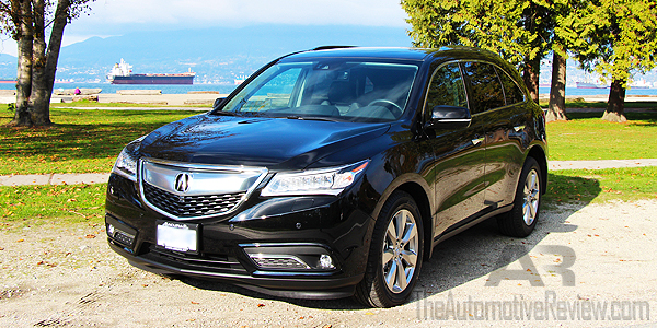2016 Acura MDX Elite Exterior Front Side Featured