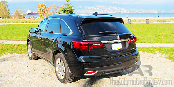 2016 Acura MDX Elite Exterior Rear Side