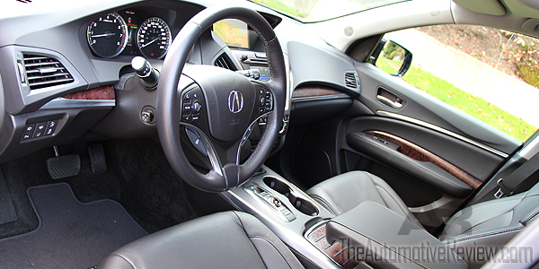 2016 Acura MDX Elite Interior Front