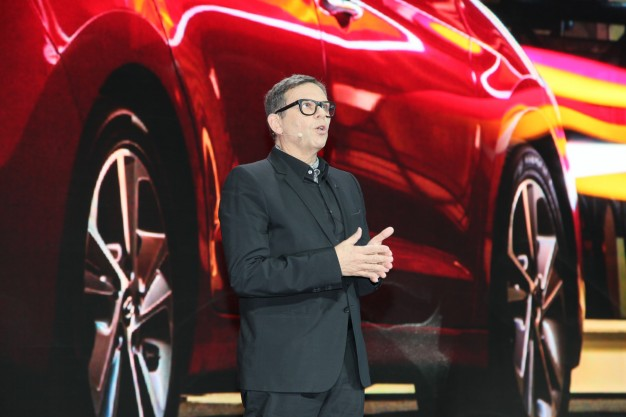 Hyundai Motors global design director Peter Schreyer, 2015 L.A. Auto Show