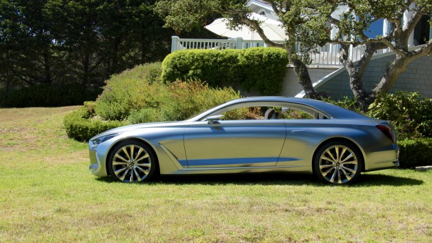 Hyundai Concept G Coupe Pebble Beach profile