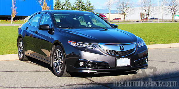 2015 Acura TLX Elite Exterior Front Side